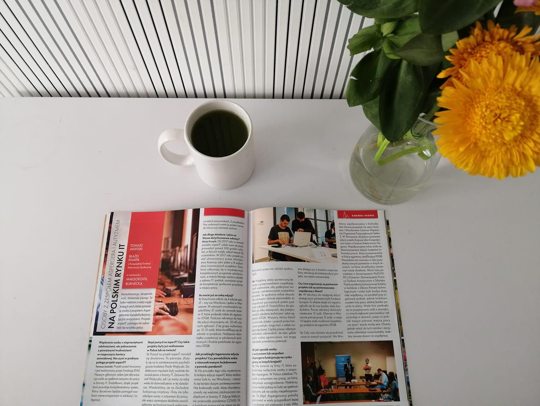 Wywiad dla magazynu Wroclife